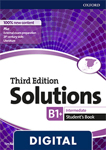 Solutions 3rd Edition Intermediate. Student's Book (OLB eBook)