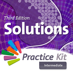 Solutions 3rd Edition Intermediate.On-line practice