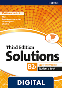 Solutions 3rd Edition Upper-Intermediate. Student's Book (OLB eBook)