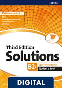 Solutions 3rd Edition Upper-Intermediate. Student's Book (OLB eBook)