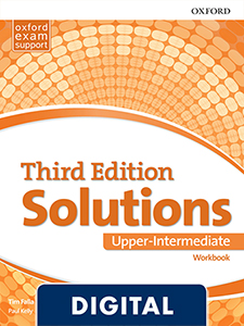 Solutions 3rd Edition Upper-Intermediate. Workbook (OLB eBook)
