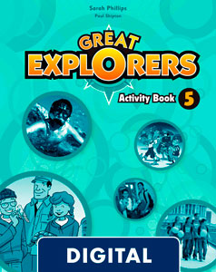Great Explorers 5. Digital Activity Book