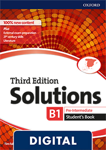 Solutions 3rd Edition Pre-Intermediate. Student's Book (OLB eBook)