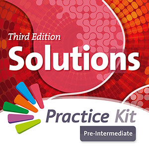 Solutions 3rd Edition Pre-intermediate. On-line practice