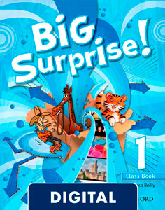 Big Surprise! 1. Class Book Blink e-Book
