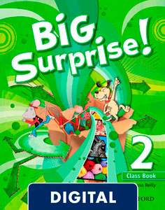 Big Surprise! 2. Class Book Blink e-Book