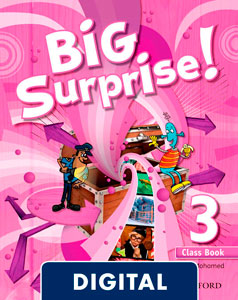 Big Surprise! 3. Class Book Blink e-Book