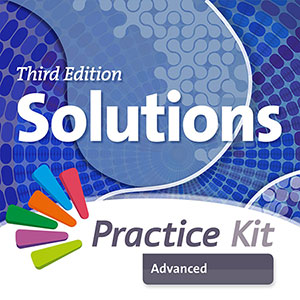 Solutions 3rd Edition Advanced. On-line practice