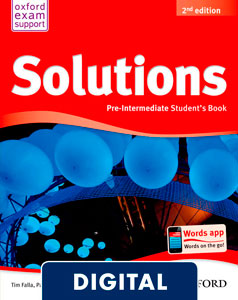 Solutions 2nd edition Pre-Intermediate. Student's Book (OLB eBook)