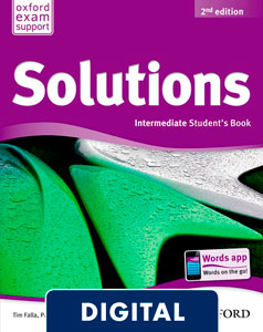 Solutions 2nd edition Intermediate. Student's Book (OLB eBook)
