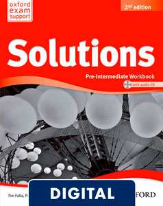 Solutions 2nd edition Pre-Intermediate. Workbook (OLB eBook)