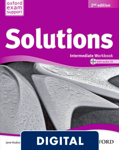 Solutions 2nd edition Intermediate. Workbook (OLB eBook)
