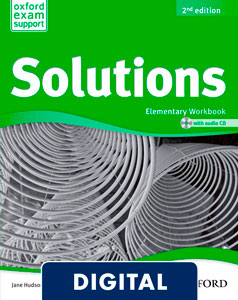 Solutions 2nd edition Elementary. Workbook (OLB eBook)