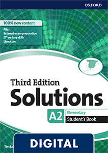 Solutions 3rd Edition Elementary. Student's Book (OLB eBook)