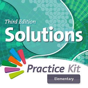 Solutions 3rd Edition Elementary. On-line practice