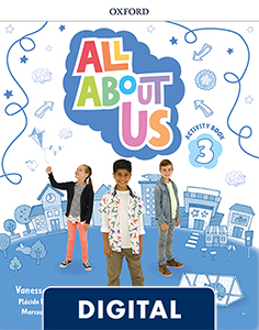 All About Us 3. Digital Activity Book