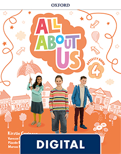 All About Us 4. Digital Activity Book