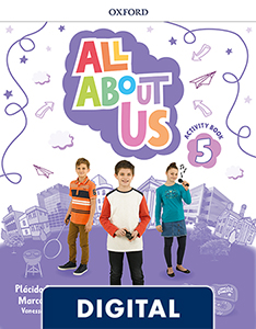 All About Us 5. Digital Activity Book