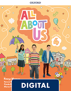 All About Us 4. Digital Class Book