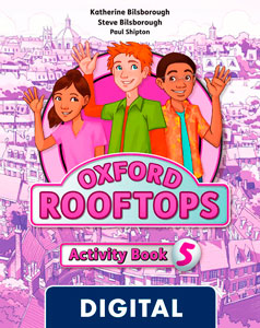 Oxford Rooftops 5. Activity Book Blink e-Book