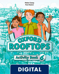 Oxford Rooftops 6. Activity Book Blink e-Book