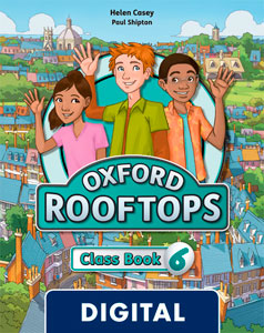 Oxford Rooftops 6. Class Book Blink eBook