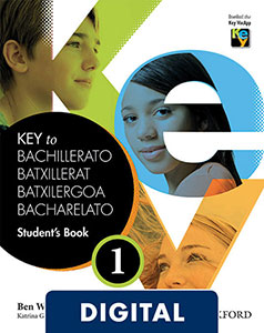 Key to Bachillerato 1. Digital Student's Book