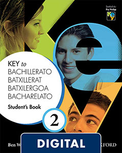 Key to Bachillerato 2. Digital Student's Book
