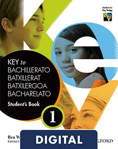 Key to Bachillerato 1. Student's Book Blink e-Book