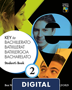 Key to Bachillerato 2. Student's Book Blink e-Book