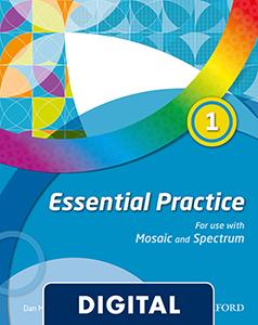 Mosaic & Spectrum Essential Practice 1. Blink eBook