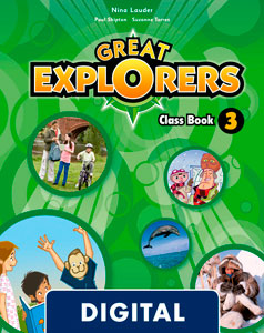 Great Explorers 3. Class Book Blink e-Book