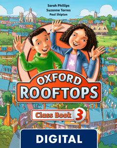 Oxford Rooftops 3. Class Book Blink e-Book