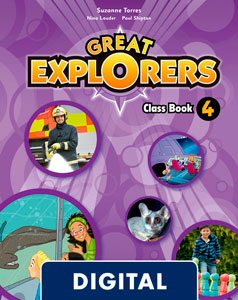 Great Explorers 4. Class Book Blink e-Book