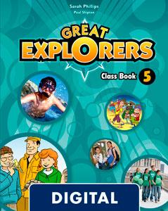 Great Explorers 5. Class Book Blink eBook