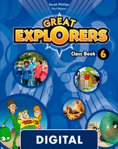 Great Explorers 6. Class Book Blink e-Book