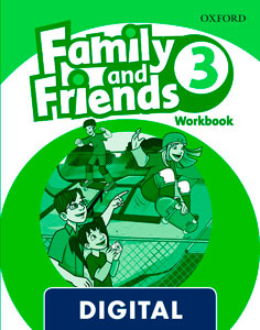Family and Friends 2nd Edition 3. Activity Book (OLB eBook)