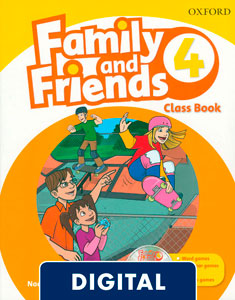Family and Friends 2nd Edition 4. Class Book (OLB eBook)