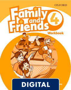 Family and Friends 2nd Edition 4. Activity Book (OLB eBook)