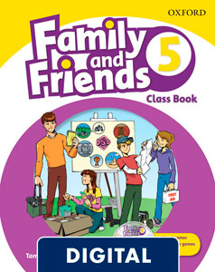 Family and Friends 2nd Edition 5. Class Book (OLB eBook)