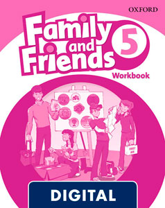 Family and Friends 2nd Edition 5. Activity Book (OLB eBook)