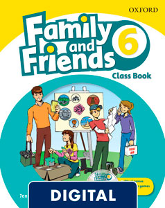 Family and Friends 2nd Edition 6. Class Book (OLB eBook)