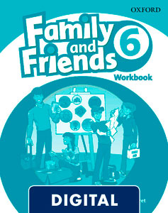 Family and Friends 2nd Edition 6. Activity Book (OLB eBook)