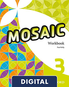 Mosaic 3 Digital Work Book 2020