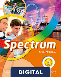 Spectrum 3 digital Student's Book 2020