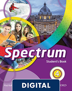 Spectrum 4 digital Student's Book 2020