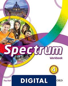 Spectrum 4 digital Work Book 2020