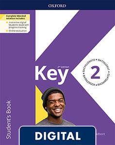 Key to Bachillerato 2. Digital Student's Book. 2 Edition