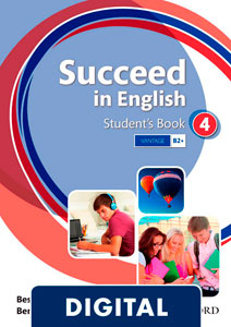 Succeed in English 4. Student's Book (OLB eBook)