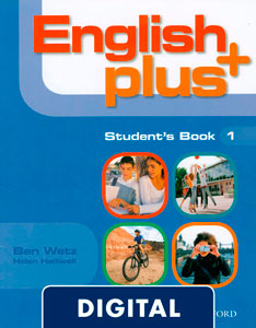 English Plus 1. Student's Book (Digital)